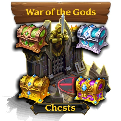War of Gods Chests