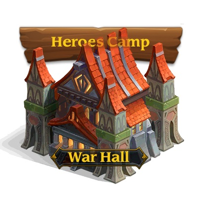 Heroes Camp -> War Hall